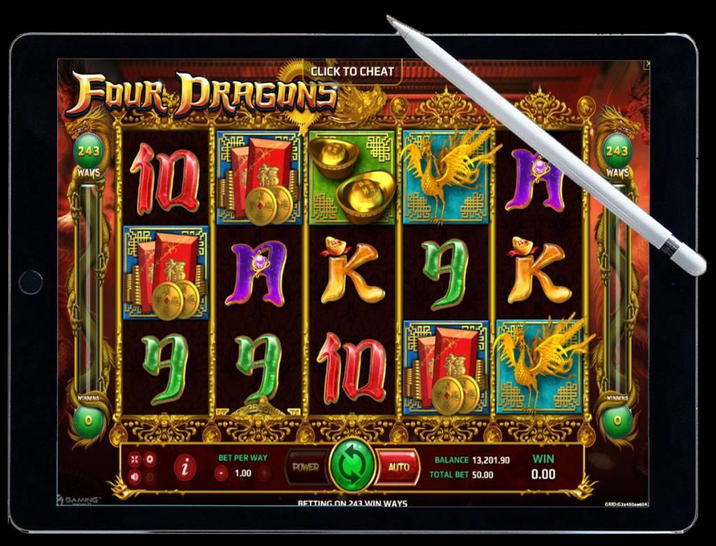 Four Dragons เกมคาสิโนสล็อต